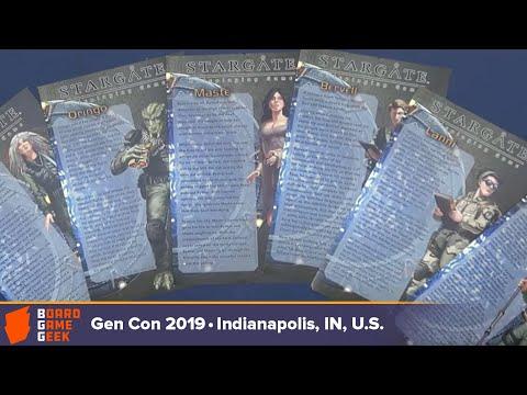 Stargate SG 1 RPG Announcement At Gen Con 2019