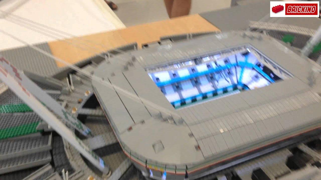 lego juventus stadium youtube lego juventus stadium