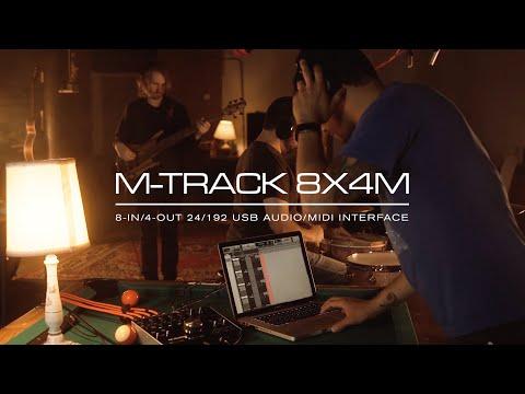 M-Audio || Introducing the M-Track 8x4M