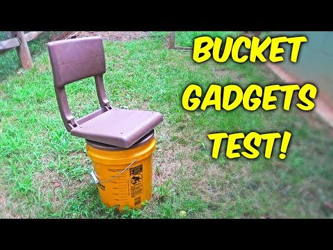 5 Gallon Bucket Gadgets put the Test! - Part 2