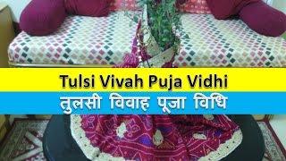 Tulsi Vivah Puja Vidhi and Vrat Katha - तुलसी विवाह पूजा विधि और व्रत कथा