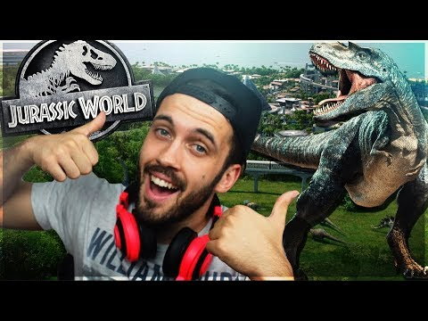 OTVARAMO OGROMNI JURSKI PARK!! JURASSIC WORLD EVOLUTION