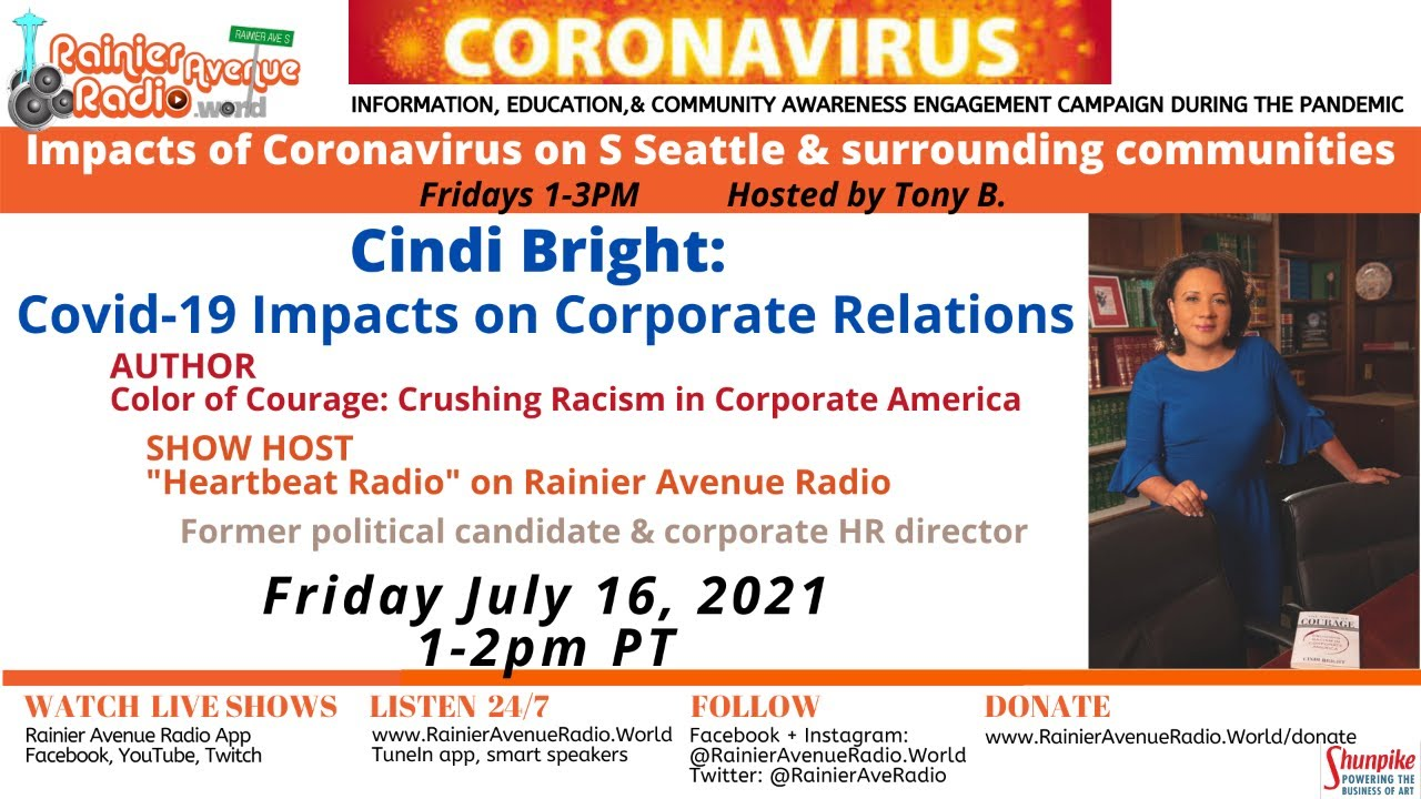 7-16-21 Cindi Bright on Impacts of Covid-19 on Corporate Relations