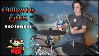 Earth Wind Fire September On Drums The8bitdrummer