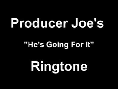 He's Going For It Ringtone