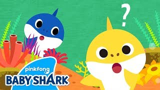 Where is Daddy Shark? | Sing Along with Baby Shark | Baby Shark Songs | Baby Shark Official