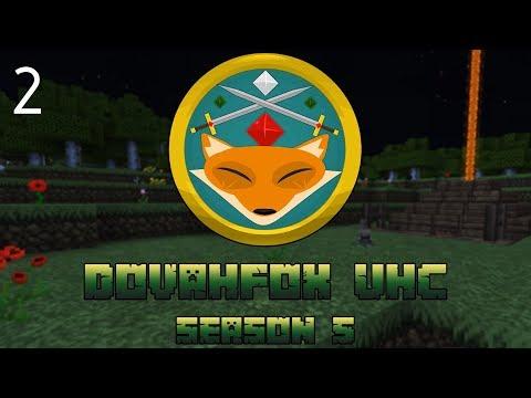 "UHC Minecraft | Dovafox Season 5 | ""The Killer Bunny Trap"" | UHC EP 2"