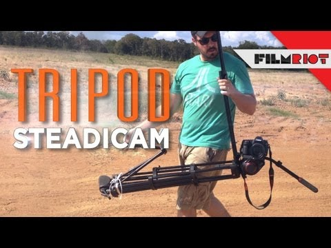 Tripod Steadicam!