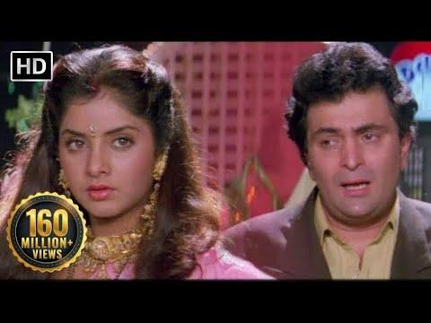 Tere Dard Se Dil Aabad Raha   Deewana Movie  Shahrukh Khan  Rishi Kapoor  Divya Bharti