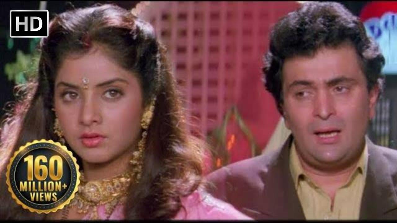 Download Tere Dard Se Dil Aabad Raha    Deewana Movie   Shahrukh Khan   Rishi Kapoor   Divya Bharti