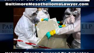 Mesothelioma Attorneys Baltimore MD -- Parker, Dumler and Kiely