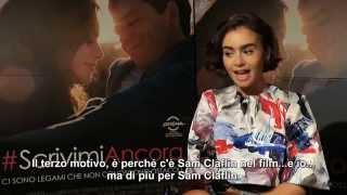 #ScrivimiAncora - I 3 motivi di Lily Collins per cui dovreste vedere il film [HD]