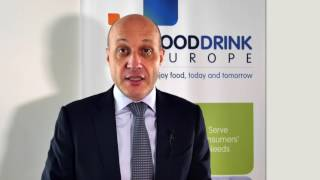 FoodDrinkEurope's President presents the ambition of the food and drink industry for growth and jobs