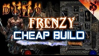 Cheap Frenzy Barbarian Guide (Clears Hell and Ubers Easy) - Diablo 2  디아블로 2