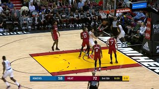 3rd Quarter, One Box Video: Miami Heat vs. New York Knicks