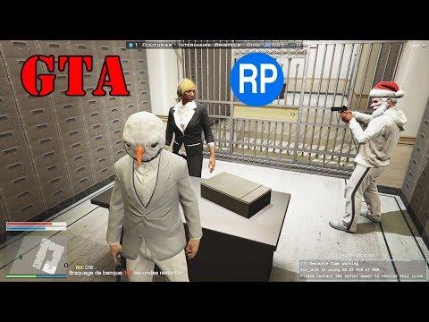 GTA 5 RP : LE PLUS GROS BRAQUAGE DE LA GRANDE BANQUE CENTRALE (EPISODE 4)