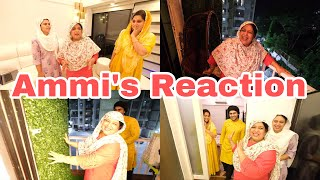 Ammi saw the new look of the house for the first time | Ibrahim family | Shoaib Ibrahim | Vlog