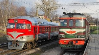 Железная дорога, тепловозы, видео поезда / Railway video compilation, locomotives, trains(Some videos from my archive. Passenger locomotives TEP70BS, TEP70 and TEP60. Filmed in many places in Lithuania. PART 6. Locomotives in the scenes; 1., 2011-10-13T01:00:52.000Z)