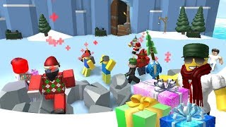 Roblox R2DA 2018 Christmas Gifts Opening !!