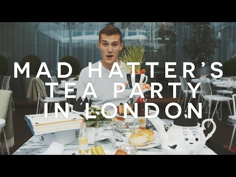 MAD HATTER'S TEA PARTY IN LONDON - SANDERSON