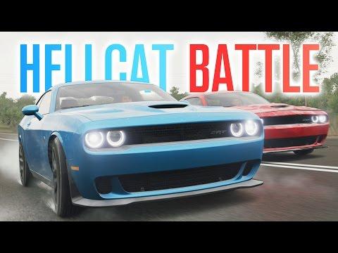 THE HELLCAT BATTLE, CUSTOM BUCKET LISTS & CLUB! | Forza Horizon 3 Let's Play #8