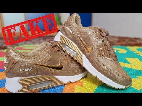 How to Spot Fake Nike Air Max? || Example on a Master Copy Nike Air Max