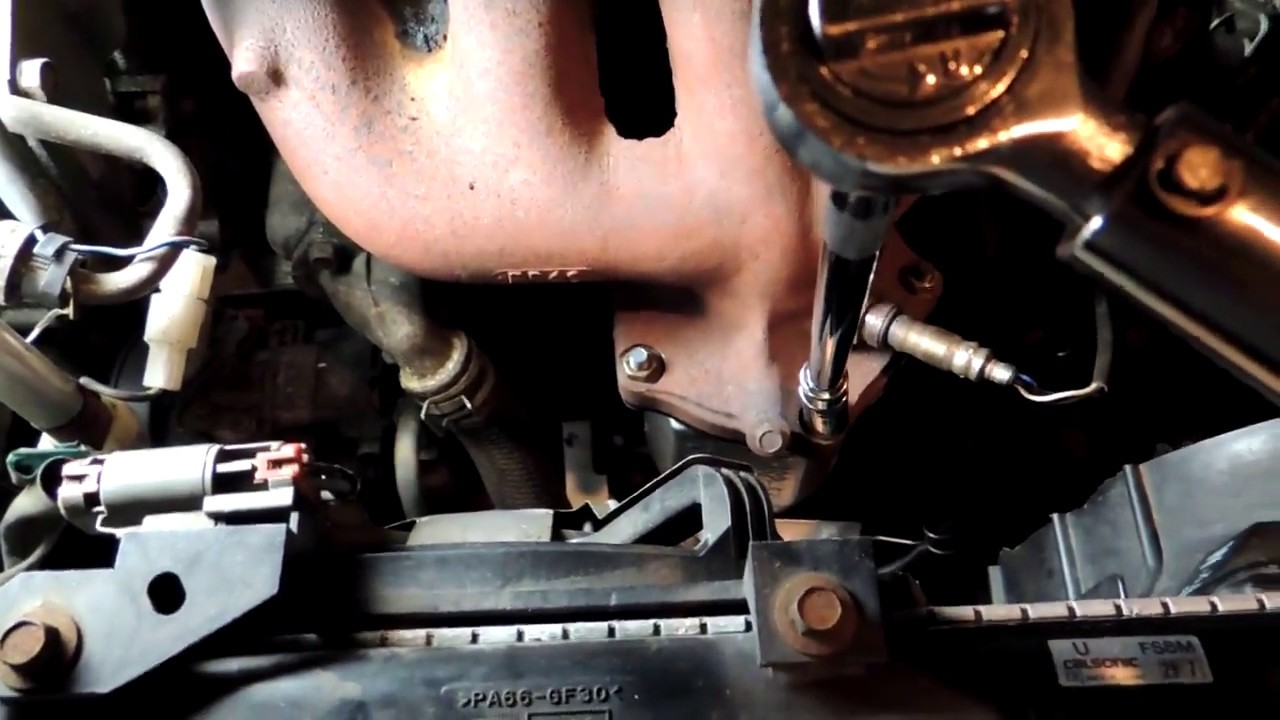 P0421 on 2003 Mazda Protege 5, catalytic converter remove and ...
