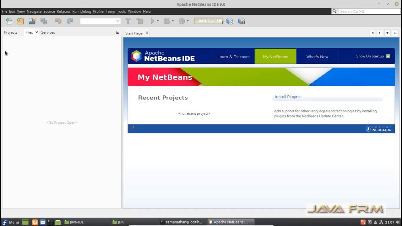 Apache NetBeans IDE 9 0 Installation on Fedora 28 Cinnamon and Modular  Programming using JDK 9/10