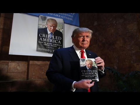 "Donald Trump publishes new book, ""Crippled America"" as rivals turn up the heat"