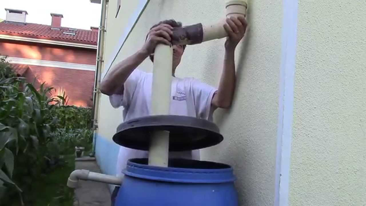 Cisterna para recoger aguas pluviales cistern to collec - Recoger agua lluvia ...