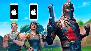 PC Player Joins Fortnite Mobile Scrim Lobby (Not Fair)