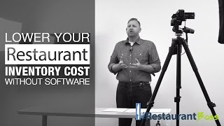 How to Lower Your Restaurant Inventory without Software