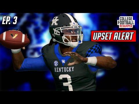 Upset Alert?! | Kentucky NCAA Football 14 Revamped Dynasty | Ep. 3