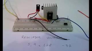 Aumentando a potencia do Regulador de Voltagem 7805/7809 - Muito Facil!