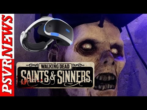 OMG!!! The Walking Dead VR GAME FINALLY ANNOUNCED!!! PSVR NEWS | PSVR NEW GAMES