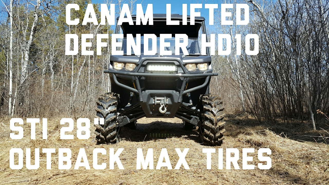 Lifted Defender HD10 Trail Beast!