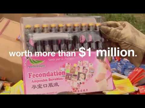 Fake Medicine from china being brought to africa