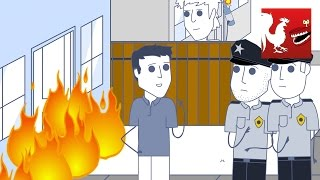 Video Rooster Teeth Animated Adventures - The Burglar and The Fire download MP3, 3GP, MP4, WEBM, AVI, FLV Juli 2018