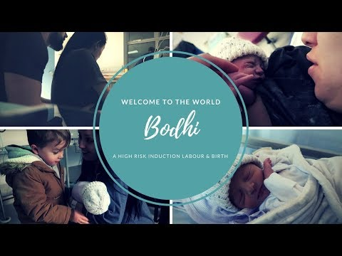 LABOUR AND BIRTH VLOG - WELCOME TO THE WORLD BODHI