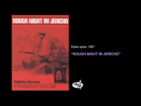Download Rough Night In Jericho starring Dean Martin and George Peppard - radio spots 1967