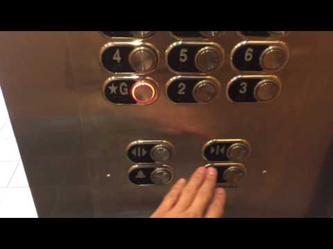 Schindler 6400NA Traction Elevators at Royal Hawaiian Center (Parking), Honolulu HI