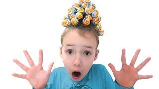 Ulya and new hairstyle from lollipops تسريحة جميلة للشعر