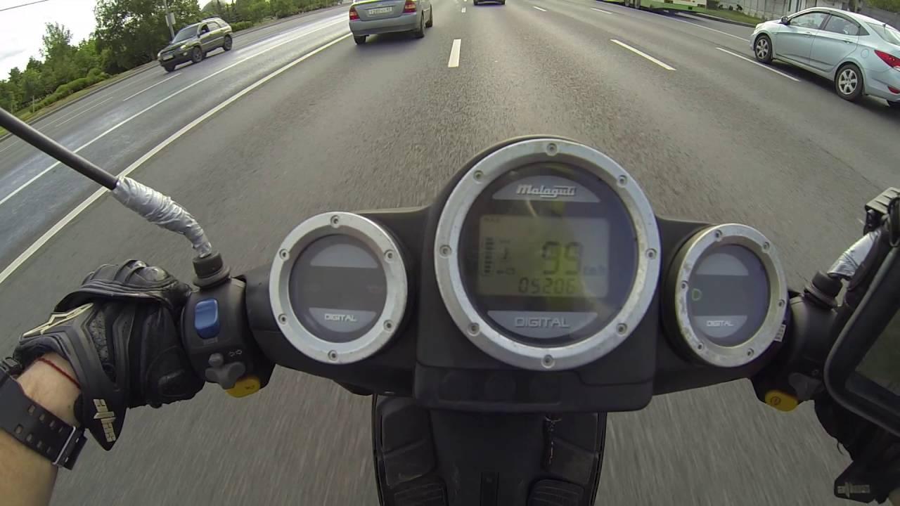 неАТД. Как объехать пробку за 2 минуты? Скутер Honda Giorno .