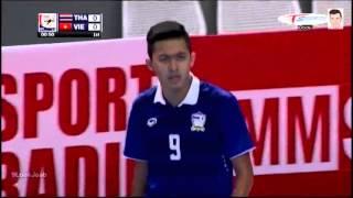 ไฮไลท์ฟุตซอล ทีมชาติไทย 6-0 เวียดนาม [AFF Futsal Championship2015] รอบรองชนะเลิศ