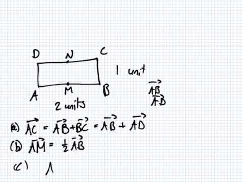 Mathematics for Engineering   Lesson   Vectors   Euclidean Vectors