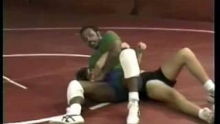 Wrestling Instruction Head Lock Takedown by, Carl Adams