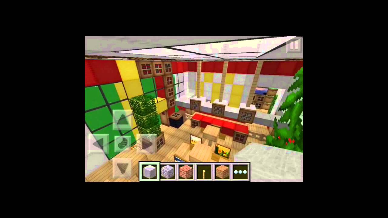 How To Build A Mcdonalds In Minecraft Pocket Edition