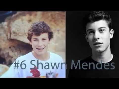 Magcon Boys then and now