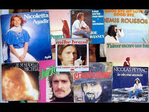 Pot-pourri de chansons françaises des années 70