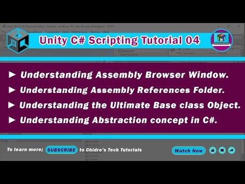 c# unity scripting video tutorial - 04 - Assembly Browser